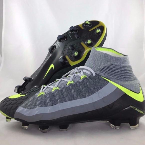 100% authentic cffcd 43161 Nike Hypervenom Phantom 3 DF SE FG Grey Cleats